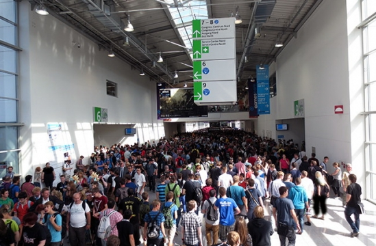 Fifth international game exhibition - GamesCom Germany