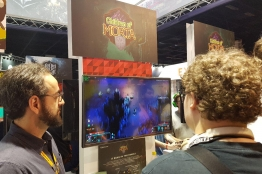 Footprints of Iranian video games in Gamescom