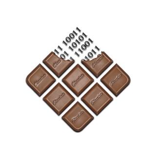 Chocolate Land of Zeros and Ones