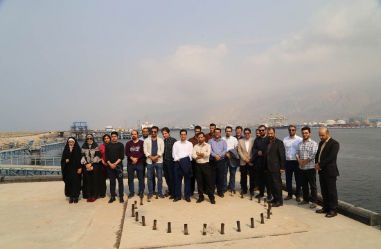 Video Game creators visiting from Asaluyeh Petrochemical Industry