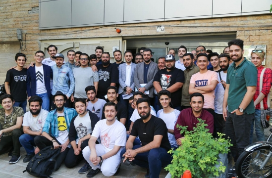 Streamers friendly meeting with Iran Computer & Video Games Foundation CEO