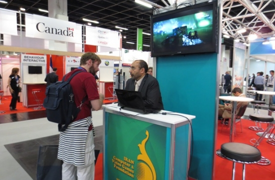 Iranian games at GamesCom Germany